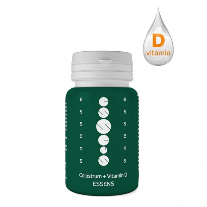 ESSENS Colostrum + Vitamin D (doplněk stravy)